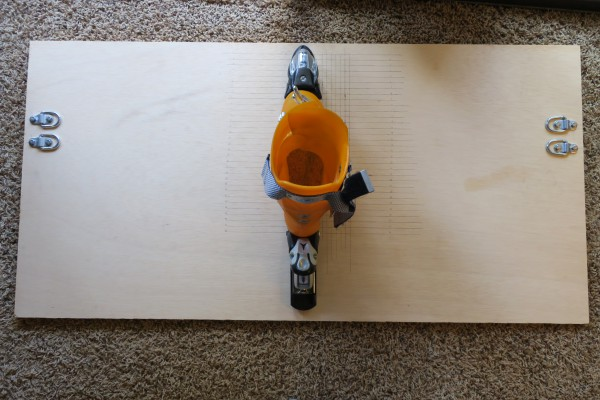 Ski Boot Spreader Board