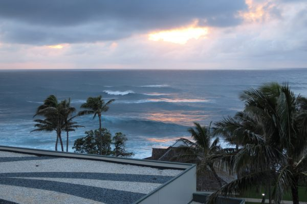 Sunset from Turtle Bay Resort