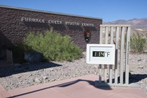Furnace Creek Temperature
