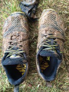 Yellow Loop Muddy Shoes