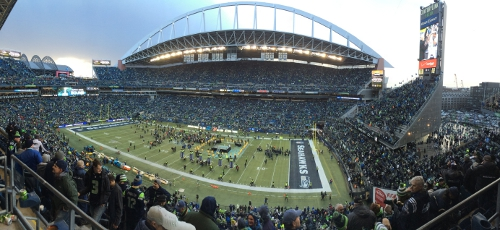 CenturyLink Field panoramic
