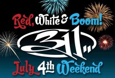 311 Red, White, and Boom