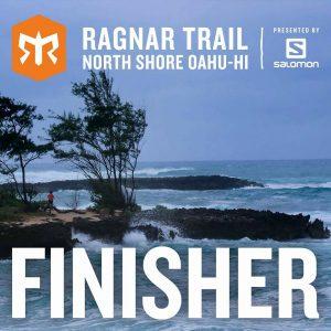 Ragnar Trail Oahu Finisher